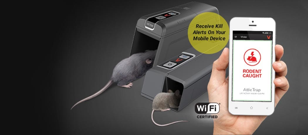 Victor Smart-Kill Wi-Fi enabled mouse and rat traps