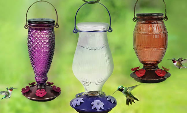 Top-Fill Hummingbird Feeder