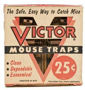 Vintage Victor Mouse Trap Ad