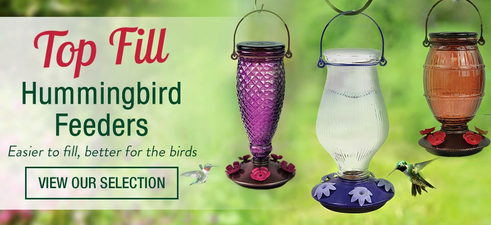 Perky-Pet Top Fill Hummingbird Feeders